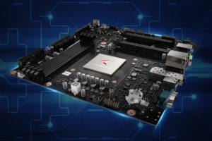 Huawei představil svoji první základní desku pro procesory ARM