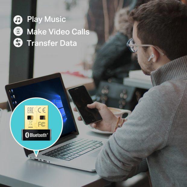 TP-Link spustil prodej prťavého USB nano adaptéru UB400 s Bluetooth 4.0