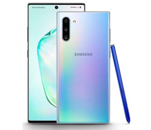 Samsungy Galaxy Note 10 a Note 10+ získávají Android 10