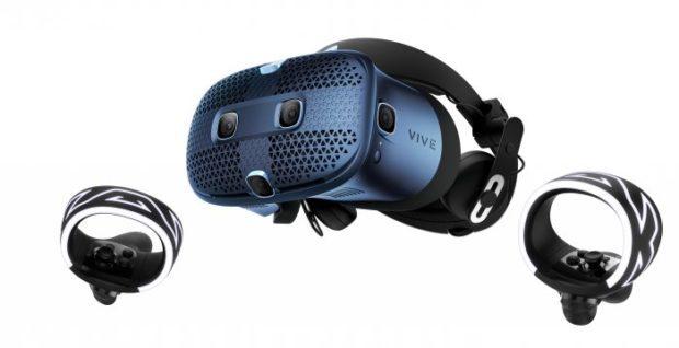 Vánoční slevy na VR headsety od HTC ušetří zákazníkům tisíce korun