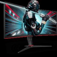 Nové přírůstky série AOC G2: Ultra široké zakřivené herní monitory CU34G2