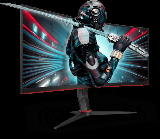 AOC CU34G2X a CU34G2: Ultra široké zakřivené herní monitory
