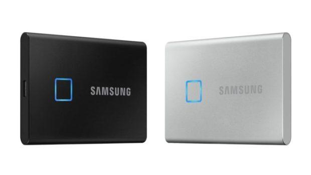 CES 2020: Externí SSD Samsung T7 Touch odemkete dotykem prstu