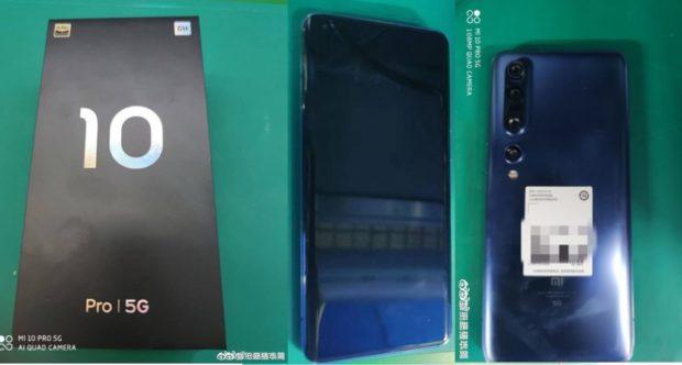 Takto vypadá Xiaomi Mi 10 Pro, bude mít 120Hz displej a podporu 65W nabíjení