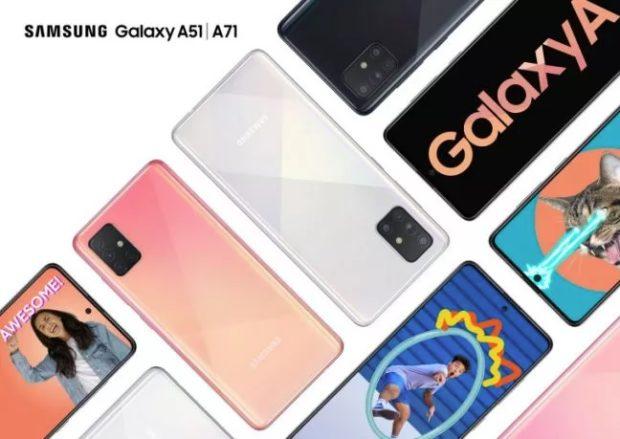 Na český trh dorazí nové Samsungy Galaxy A51 a Galaxy A71. Jaké jsou ceny?