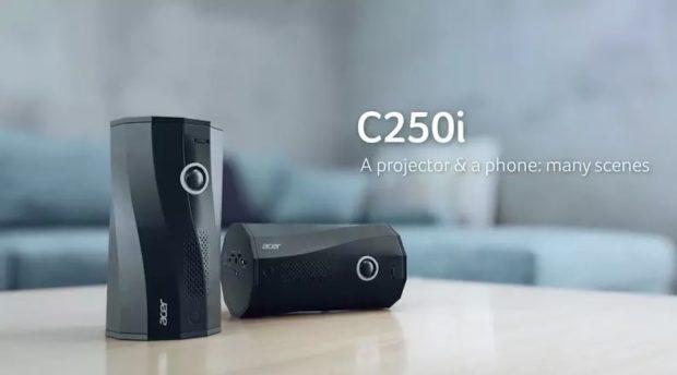 Acer C250i v prodeji, nabízí Full HD rozlišení a režim automatického otočení