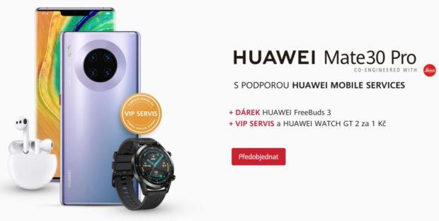 Nic lepšího nikdy nevyrobil: Huawei v ČR spustil předobjednávky telefonu Mate 30 Pro se spoustou bonusů