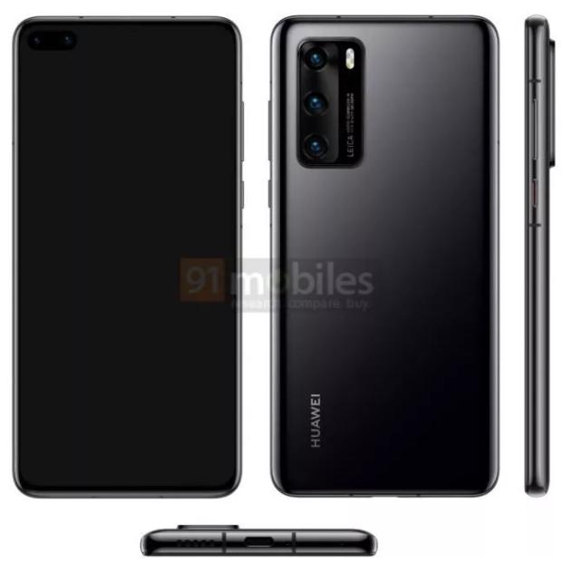 Takto bude vypadat špičkový smartphone Huawei P40