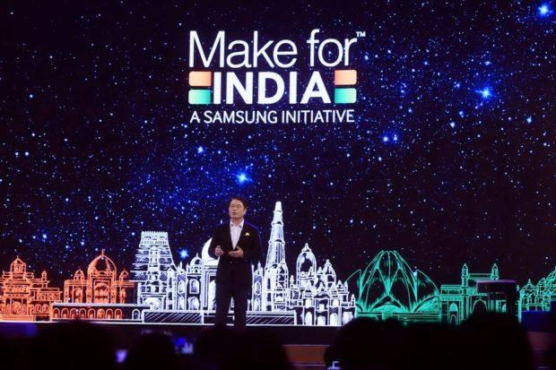 Samsung v Indii postaví novou továrnu na výrobu displejů