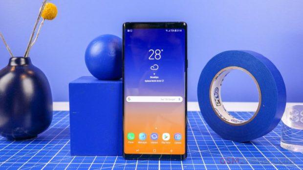 Samsung Galaxy Note 9 dostává finální Android 10