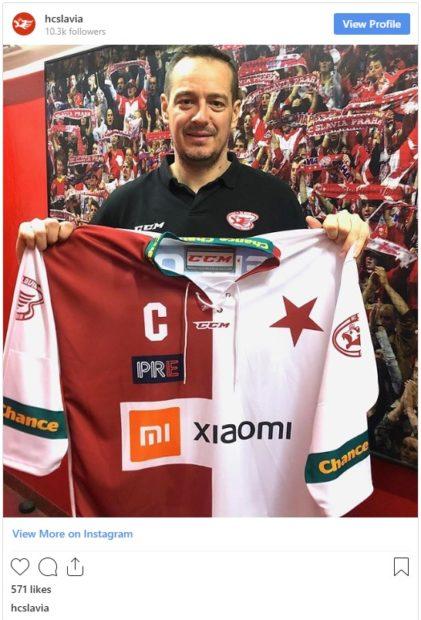 Xiaomi se stává novým partnerem hokejové Slavie