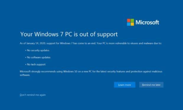 Microsoft opravuje Windows 7 i po skončení oficiální podpory