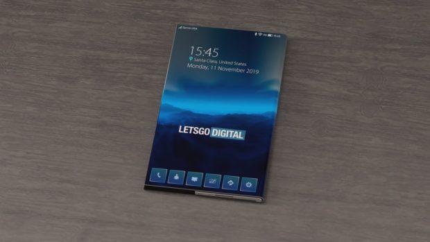 Skládací mobil od Intelu? Takto by mohl vypadat