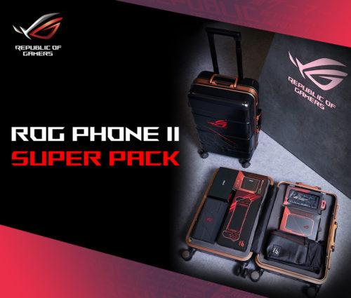 Asus nabízí speciální kufr s kompletním příslušenstvím pro svůj ROG Phone II