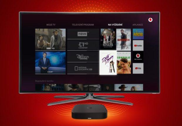 Vodafone spouští novou digitální televizi. Zpočátku nabízí tři trify
