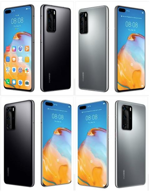 Podívejte se na oficiální snímky superphonů Huawei P40, P40 Pro a P40 Premium