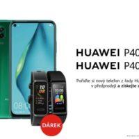 Huawei P40 Lite a Lite E míří do Česka. Chytrý náramek je v ceně