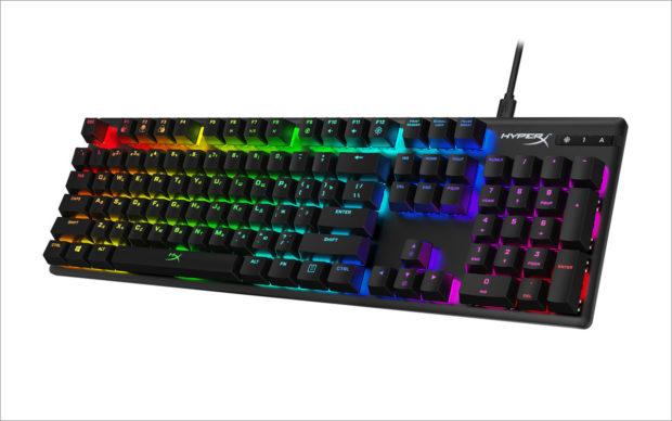 HyperX Alloy Origins je nadupaná herní klávesnice se spínači Aqua