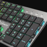 Genesis Thor 420 RGB vstupuje do prodeje, má cool design a mechanické spínače Content Slim Blue