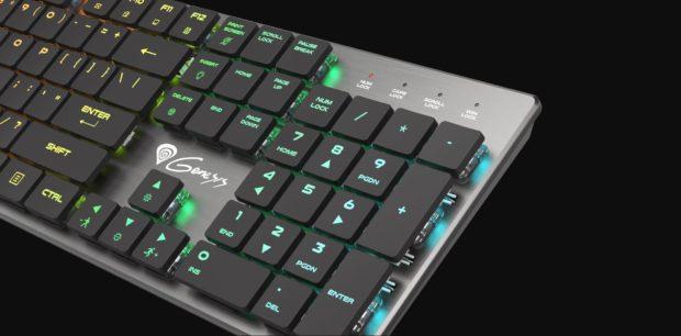 Genesis Thor 420 RGB vstupuje do prodeje s mechanickými spínači Content Slim Blue