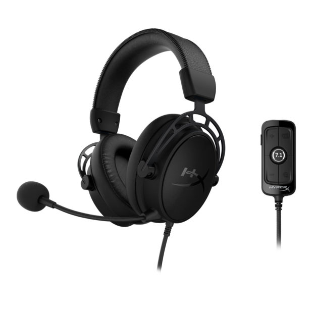 HyperX oznamuje herní headset Cloud Alpha S Blackout Edition