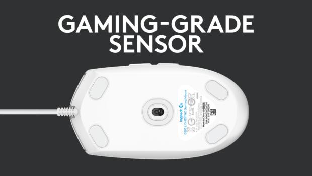 Herní myš Logitech G203 LIGHTSYNC přináší hodně muziky za slušnou cenu