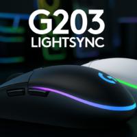 Logitech G203 LIGHTSYNC přináší hodně muziky za slušnou cenu