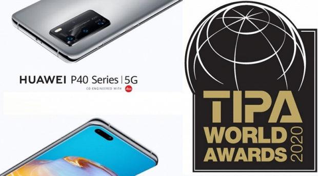Chytré telefony Huawei P40 získaly prestižní ocenění TIP Awards za nejlepší fotoaparát