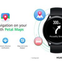 Huawei spouští aplikaci Petal Maps na hodinkách řady Watch 3